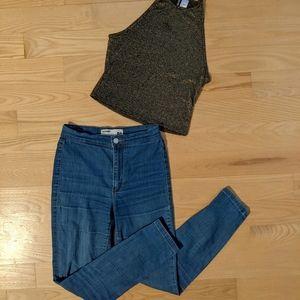 Roller Jegging Jeans